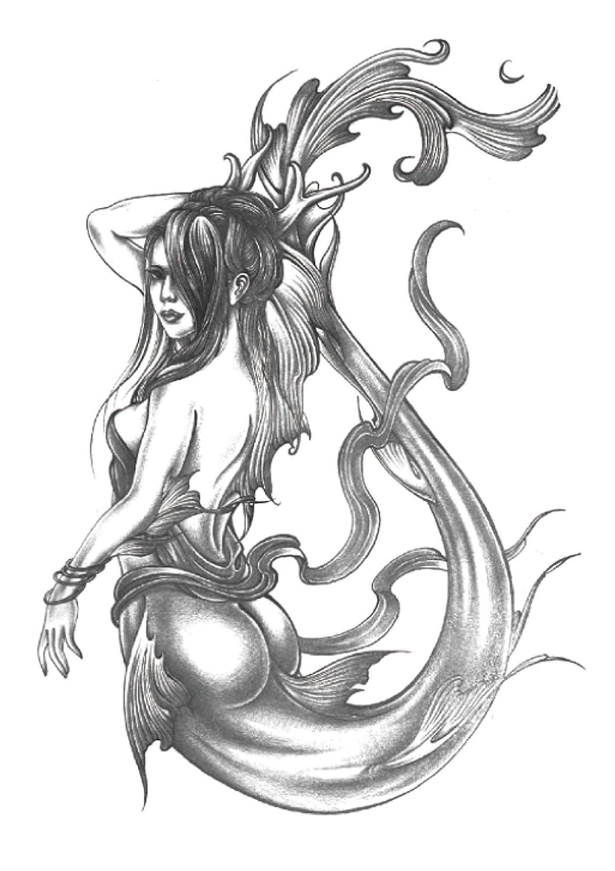 49fbd0e757167 Amazon.com: mermaid large 8.25