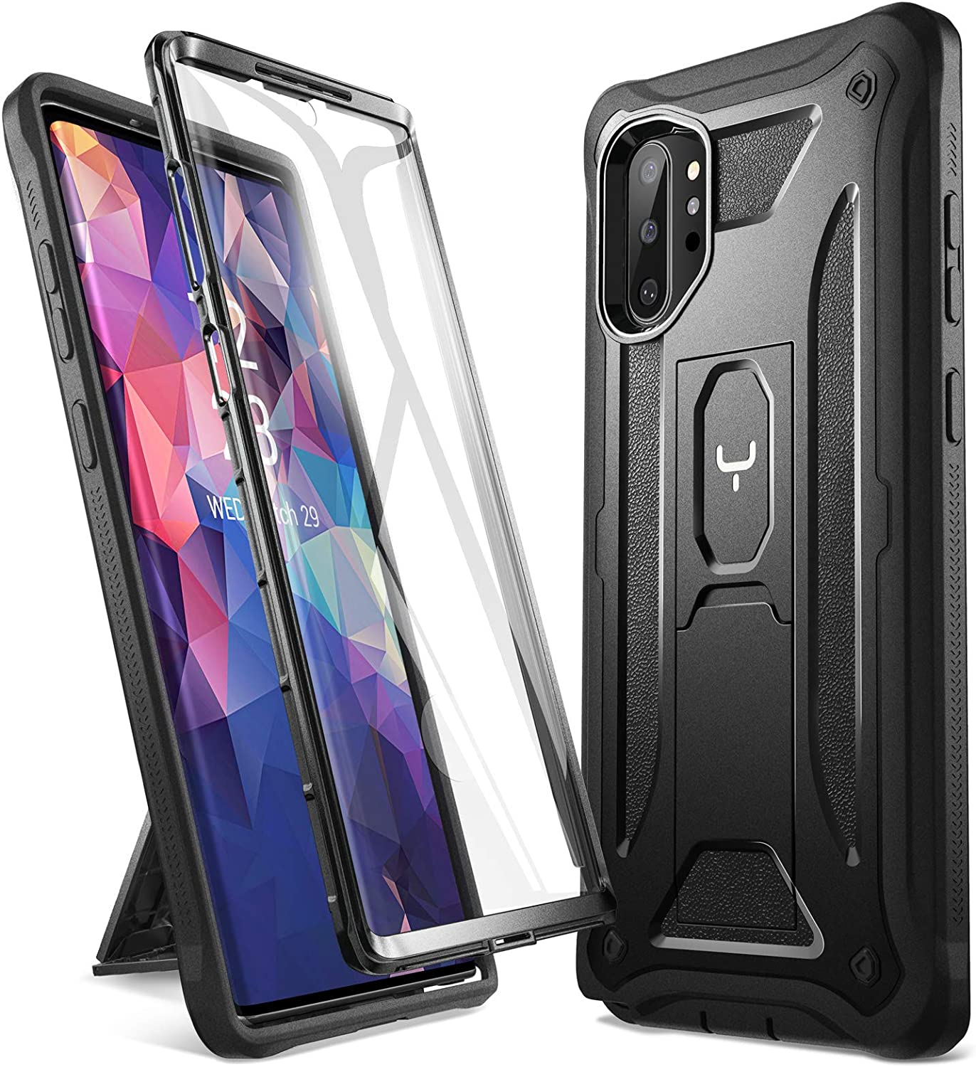 Transparent Soft Absorption TPU Gel Flexible Ultra Lightweight Silicone Ultra Thin Case for Samsung Galaxy Note 10 plus GANAN Case Compatible with Samsung Note 10+