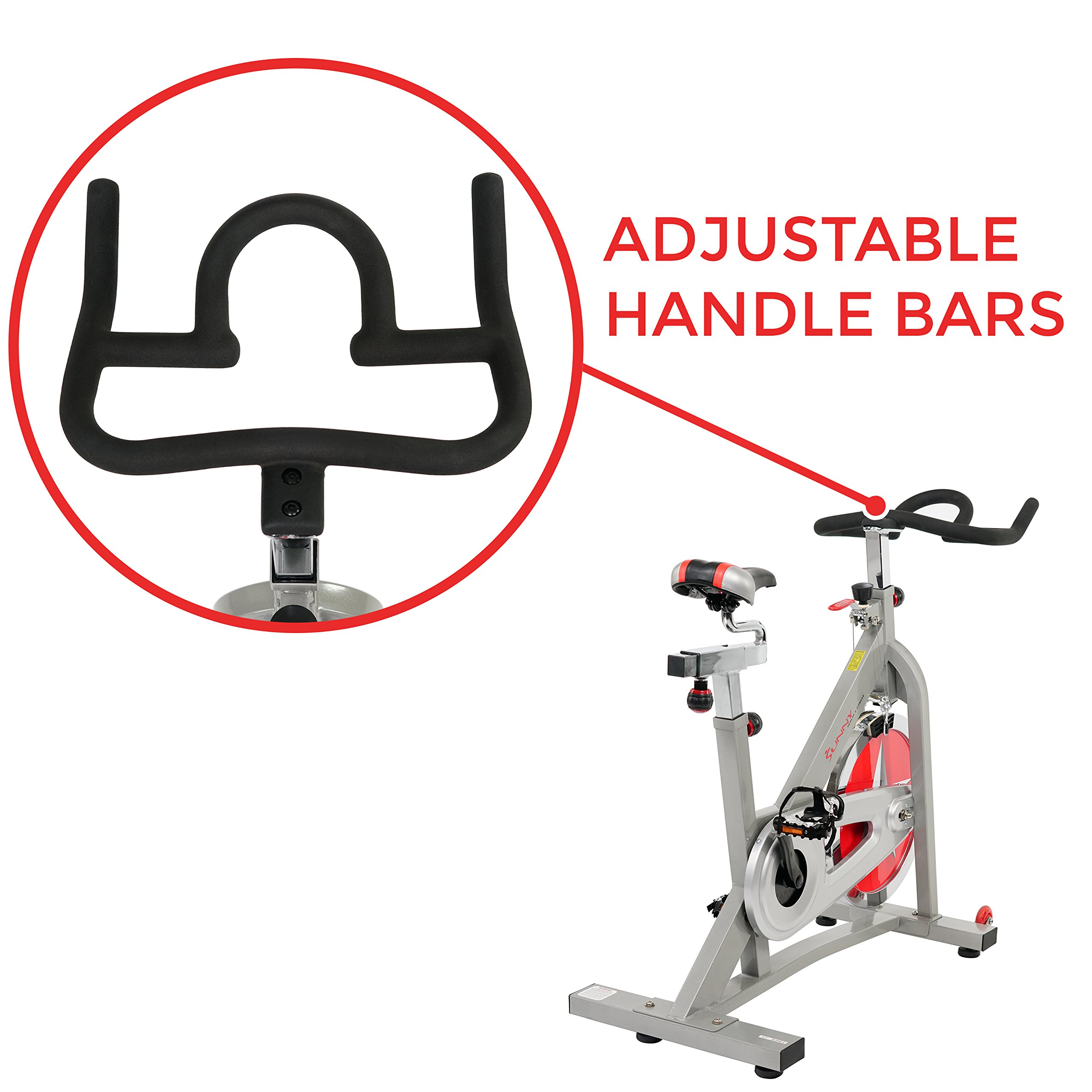 Sunny Health & Fitness Pro Indoor Cycling Bike by Sunny Health & Fitness (Image #3)
