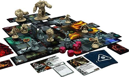 Asmodee- Doom: El Juego de Mesa Edición íntegramente en Italiano con espléndidas miniaturas, Color, 9830: Amazon.es: Juguetes y juegos