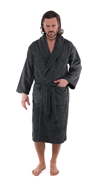 95a3ddcc8b Luxury Terry Cloth Bathrobes - Premium Hotel and Spa Robes Made with 100%  Turkish Cotton