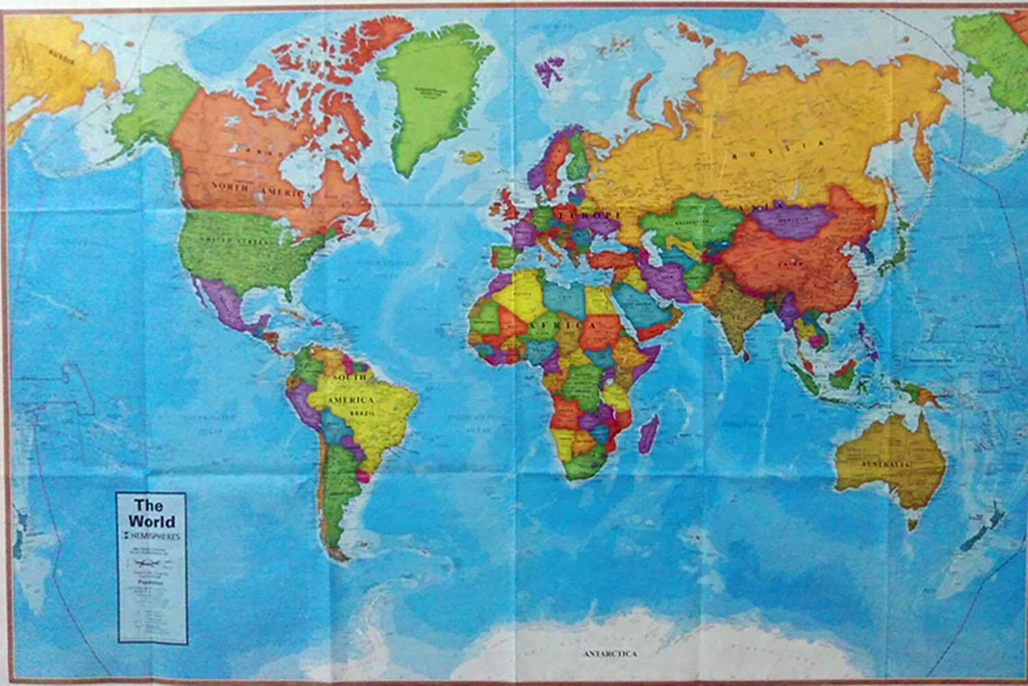 KENGEL® Tyvek 24x36 IN United States, USA,WORLD,CANDA maps Tyvek DuPont 1443R Paper MAP (24x36, United States)