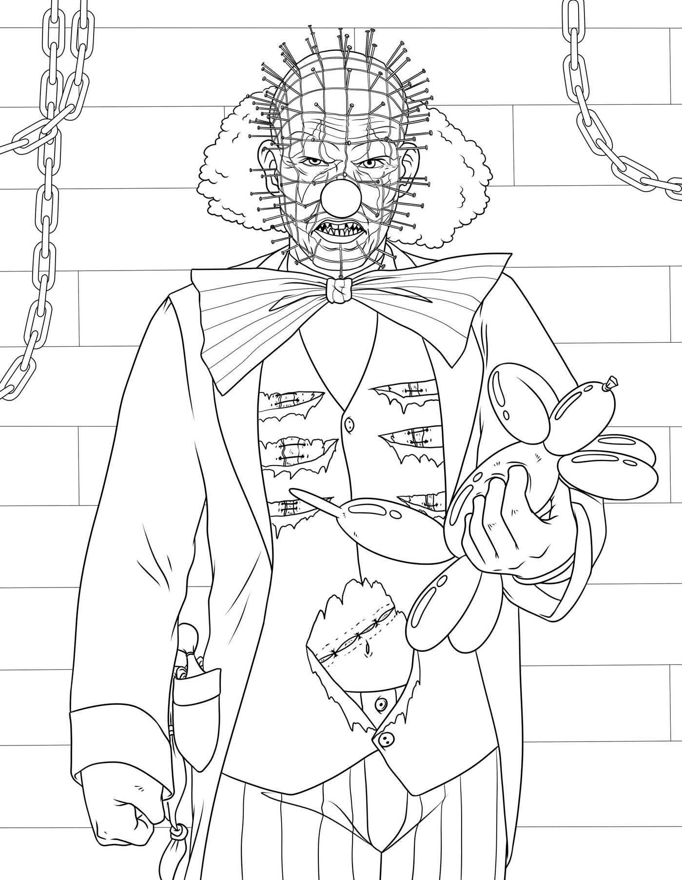 Amazon Clowns Gone Bad A Coulrophobic Coloring Book For Adults 9781682613481 M G Anthony Books