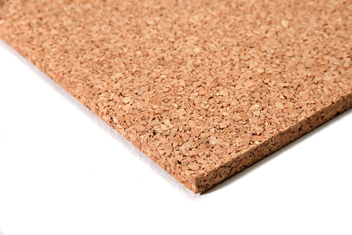 High quality cork board 100x100cm, 10mm ✓ Elastic ✓ Non-polluting ✓ Antistatic | Suitable as Bulletin board, Acoustic insulation for floors, Thermal insulation, Wall decor acerto