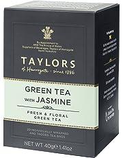 Taylors of Harrogate Green Tea with Jasmine 20 Count