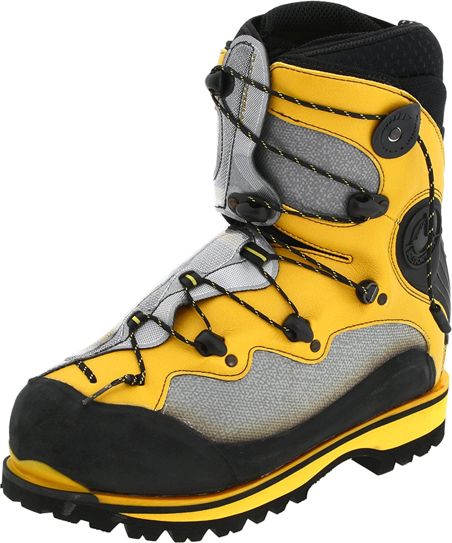 La Sportiva Men's Spantik Boot B00197S0F0 42.5 (US Men's 9.5) D - Medium|Yellow/Grey/Black