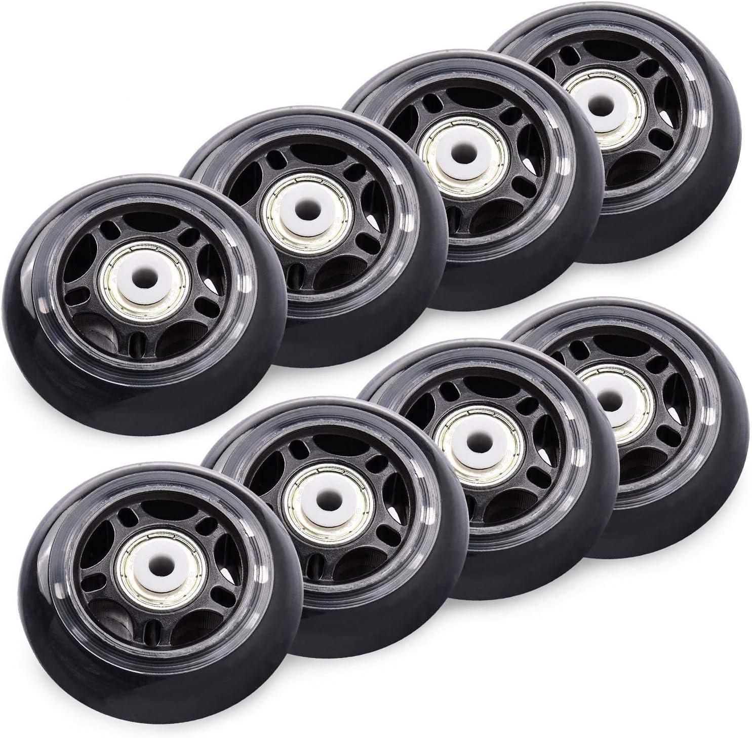 ruedas de repuesto para roller pack 8 76mm 84A ABEC-7