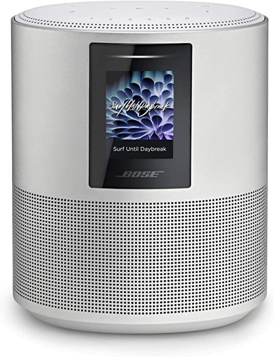 Bose Home Speaker 500 with Alexa voice control built-in, Silver