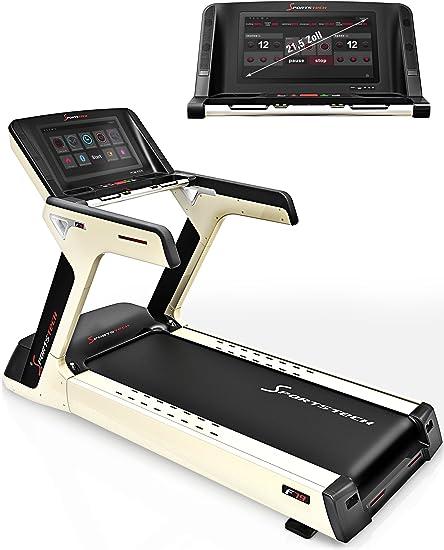 Sport STech f79 Studio cinta de correr con 21,5 pulgadas HD Touch ...