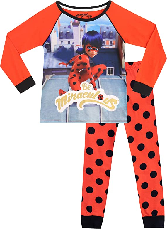 Miraculous Ladybug Boys Cat Noir Pyjamas Snuggle Fit