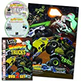 Lots & Lots of Monster Trucks 2 DVD Set w/ FREE Poster AS SEEN ON TV!