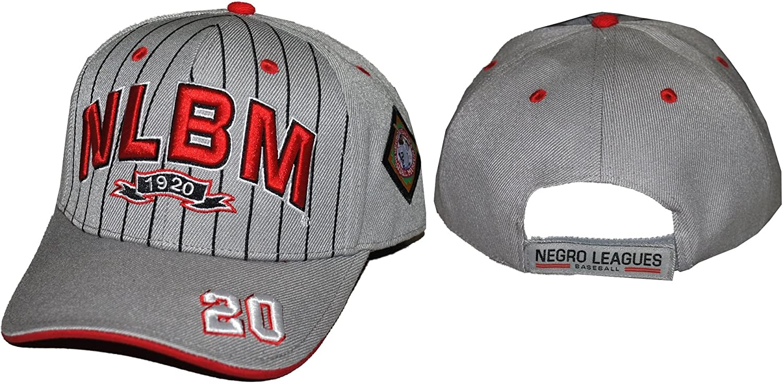 0063b75c74f Amazon.com  Big Boy Negro League Legacy S4 Mens Baseball Cap  Grey -  Adjustable   Clothing