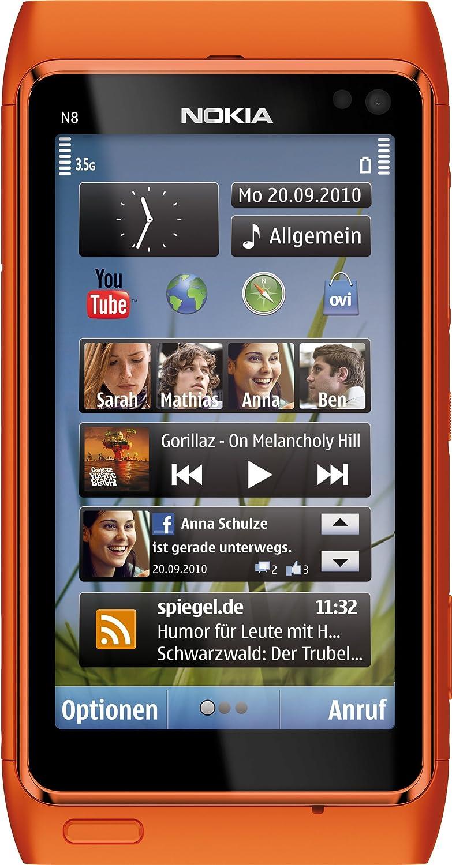 Nokia N8 - Móvil Libre (Pantalla táctil de 3,5
