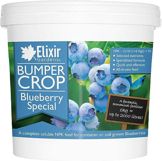 Elixir Gardens® Bumper Crop | Fertilizante especial de arándanos ...