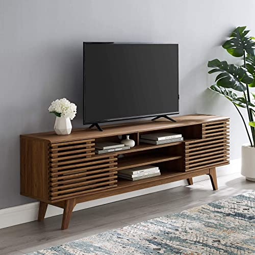 Modway Render 71″ Mid-Century Modern Media Console TV Stand