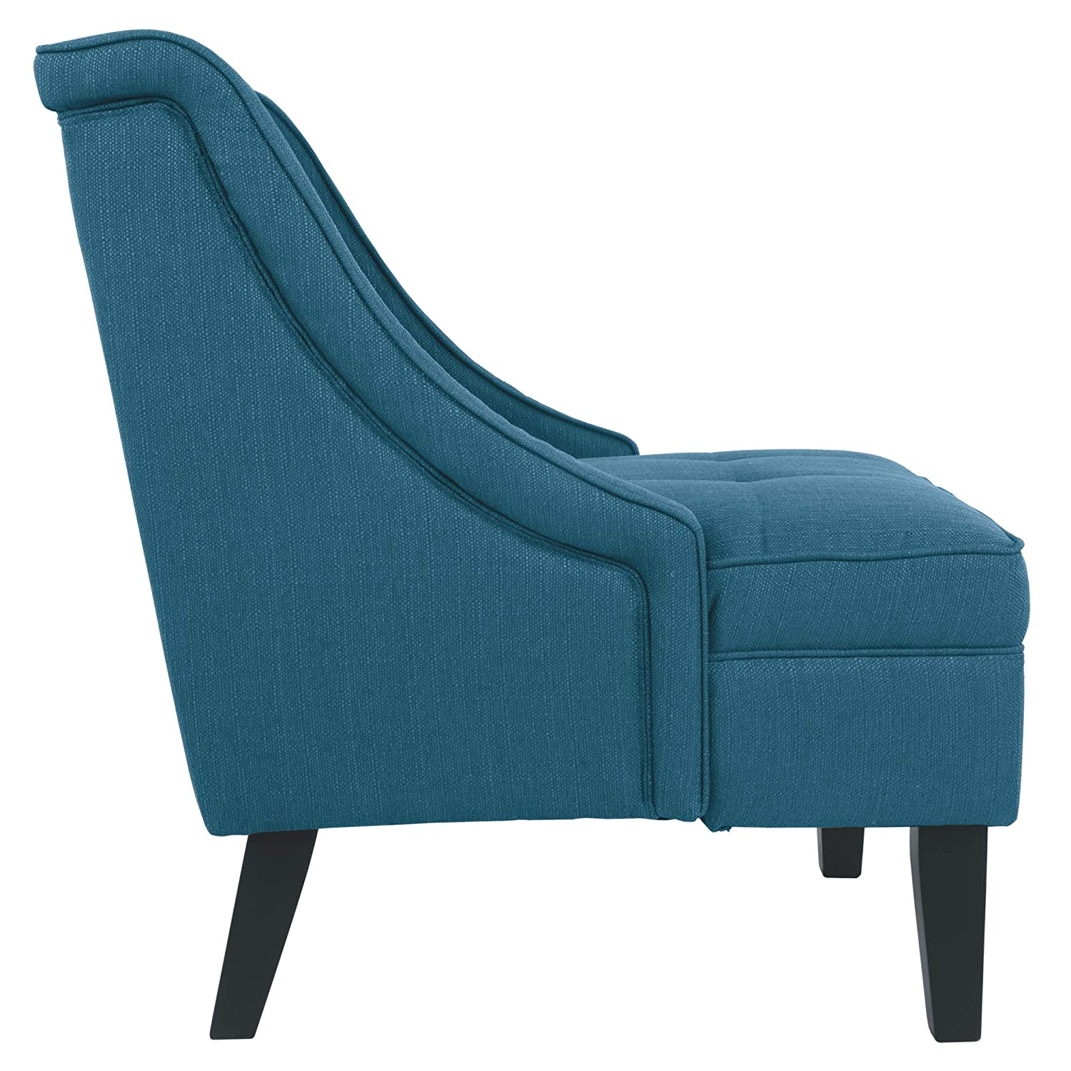 Modern Clarinda Accent Chair Blue Signature Design by Ashley Wingback