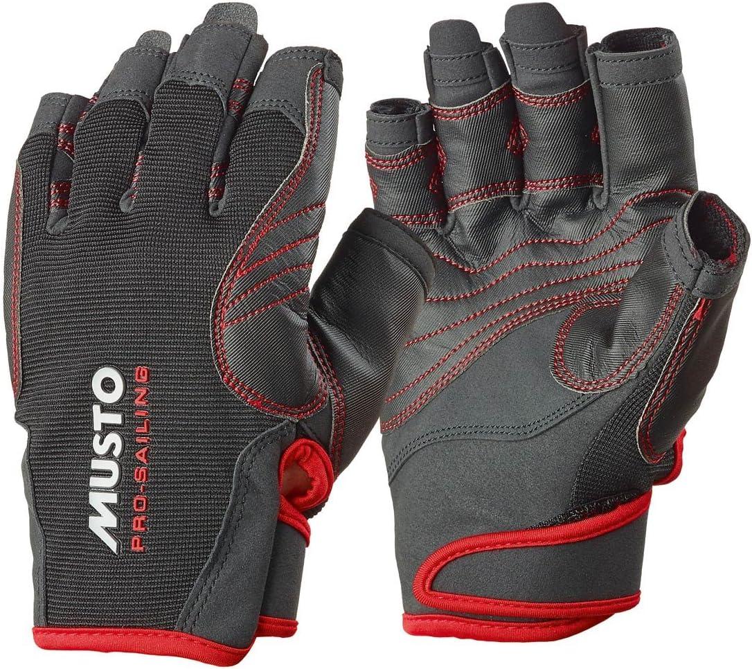 Musto Performance Short Finger Gloves Black AS0832
