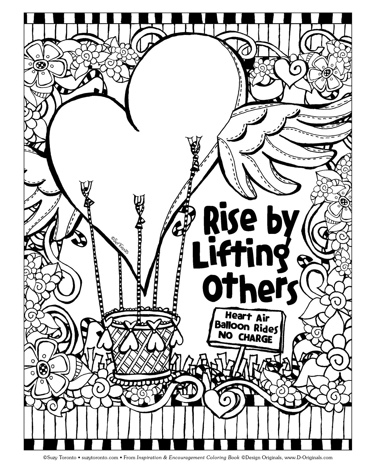coloring pages to encourage - photo#17