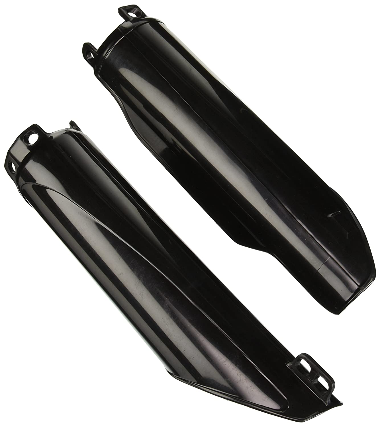 UFO HO03672-001 Replacement Plastic for Honda Fork Cover CR Black