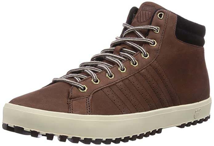 K-Swiss Men's Adcourt '72¿ Boot Coffee Bean/Jet Black/Antique White Boot:  Amazon.ca: Shoes & Handbags