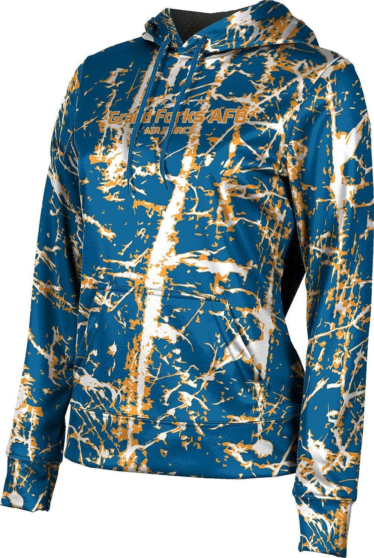 ProSphere Girls' Grand Forks AFB Military Distressed Hoodie Sweatshirt (Apparel)