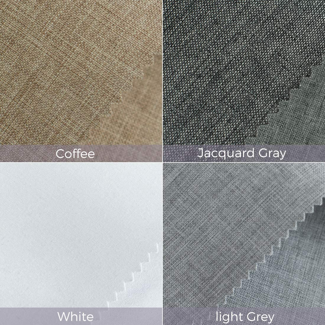 Graywind Roller Shades /& Blinds /& Curtains Fabric Samples 100/% Blackout Shade