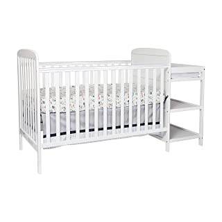 Suite Bebe Ramsey 3 in 1 Convertible Crib & Changer, White