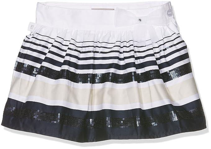 4fd7fd66d4bdc9 boboli - Falda Saten - Jupe Fille, lot de , blanc, taille 12(152cm ...