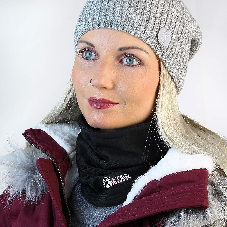 ALPIDEX /Écharpe Tube Polaire Neck Warmer Femme Homme Enfant Cache-Cou Masque Multifonction Chaude Coupe Vent