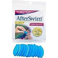 Bionix Health at Home AfterSwim Eliminación de agua de las orejas, 20 unidades