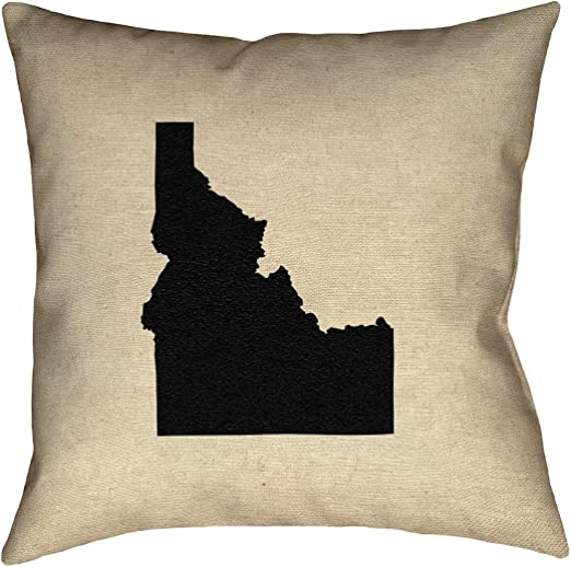 ArtVerse Katelyn Smith 26 x 26 Poly Twill Double Sided Print with Concealed Zipper /& Insert Idaho Pillow