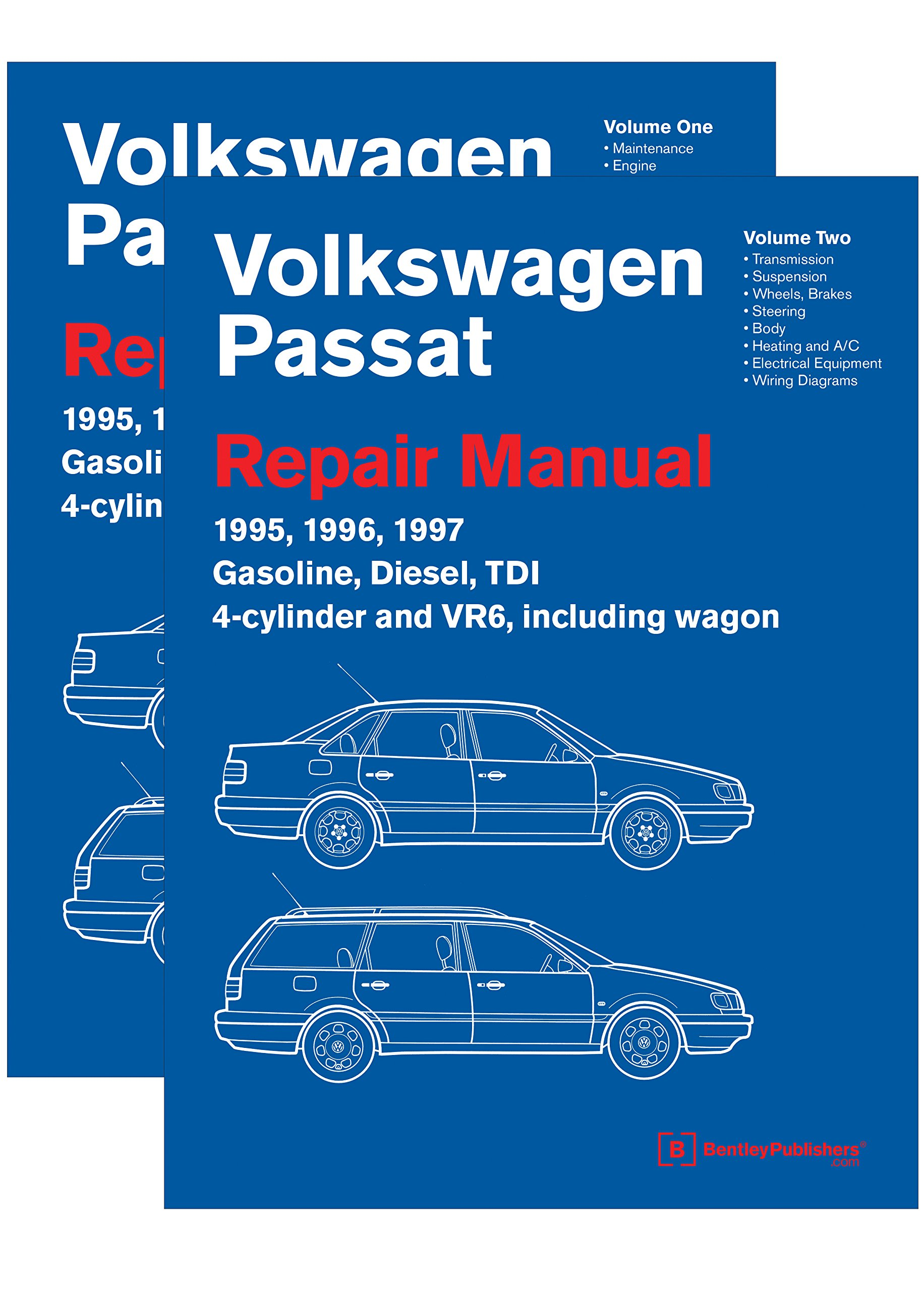 Volkswagen Passat B4 Repair Manual: 1995, 1996, 1997: Including Gasoline, Turbo Diesel, Tdi 4-Cylinder, Vr6, and Wagon: Amazon.es: Volkswagen Of America: ...