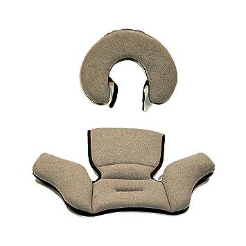 KeyFit 30 Zip Infant Car Seat Head Body Insert Obsidian