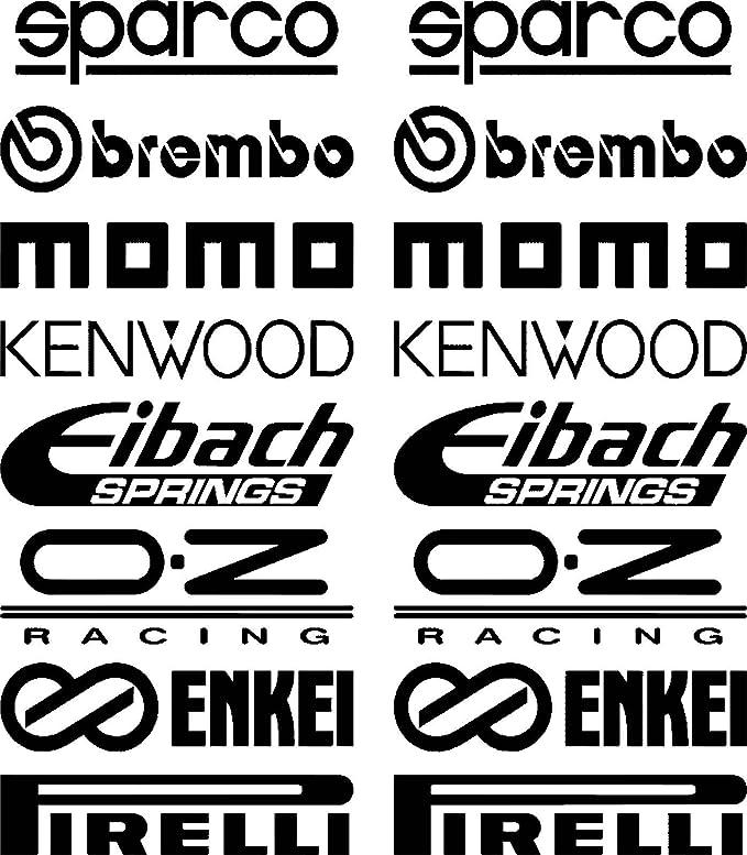 Car Door Stack Sponsor Logo Sticker Graphics Sticker Set 2 25261 Bonus Test Sticker Estrellina Glückstern Printed Installation Instructions From Myrockshirt Car Wash Proof Auto