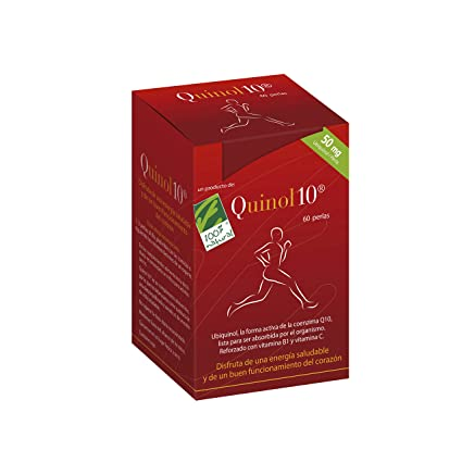 100% natural Quinol10 Vitamina B1 - 60 Cápsulas