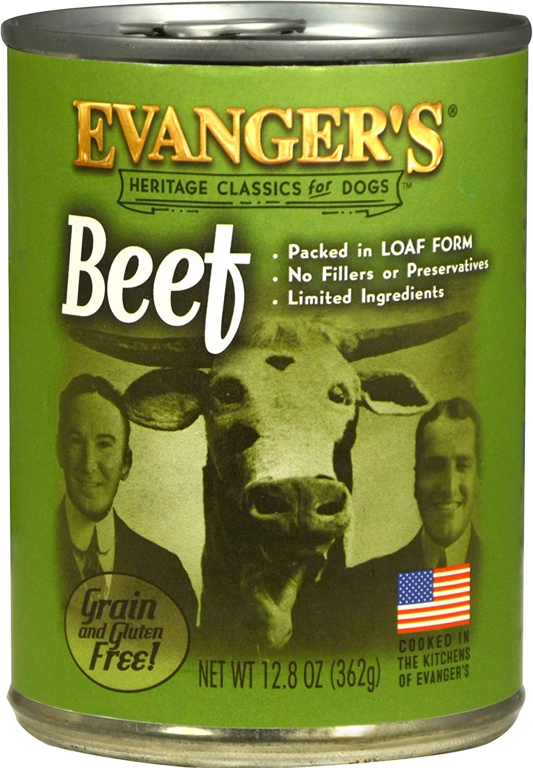 Evanger's Heritage Classics Beef for Dogs - 12, 12.5 oz cans