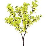 "Nantucket Home 23"" Faux Yellow Forsythia Floral Spray Branch"