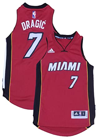 premium selection cbc3e dbda1 Amazon.com: Outerstuff Goran Dragic Miami Heat #7 Red Youth ...