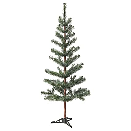 Fake Christmas Tree.Ikea Fejka Best Artificial Fake Christmas Tree 4 Ft 7 Inch Realistic Evergreen Life Like Douglas Fir Pine Perfect For Family Xmas 55 Inches