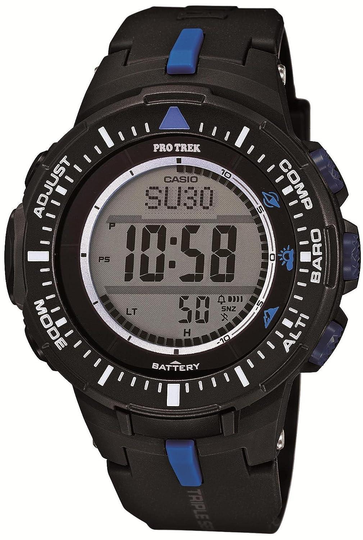 カシオ(CASIO) 腕時計 PRO TREK Triple Sensor Ver.3 ソーラーモデル PRG-300-1A2JF メンズ