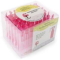 WeddingTree - Soplador de pompas de jabón de calidad, 48 unidades con empuñadura de corazón