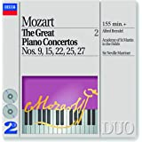 The Great Piano Concertos Vol 2: Piano Concerto 9, 15, 22, 25, 27