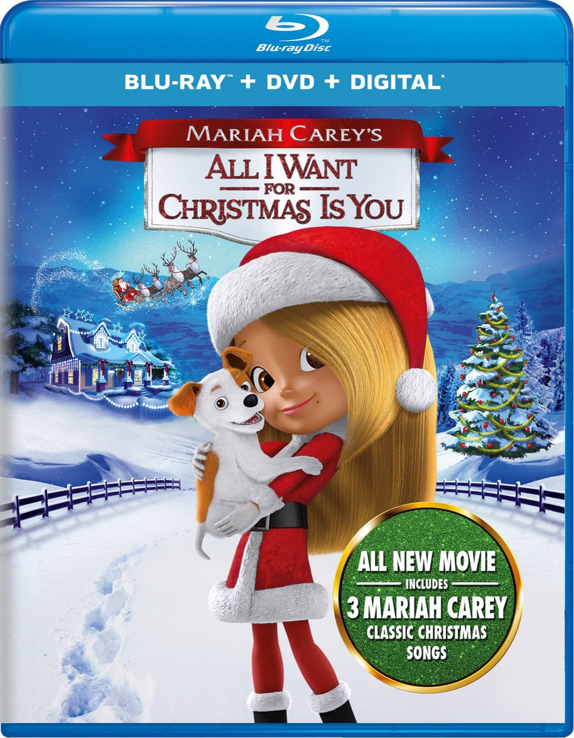 Amazon.com: Mariah Carey\'s All I Want for Christmas Is You [Blu-ray ...