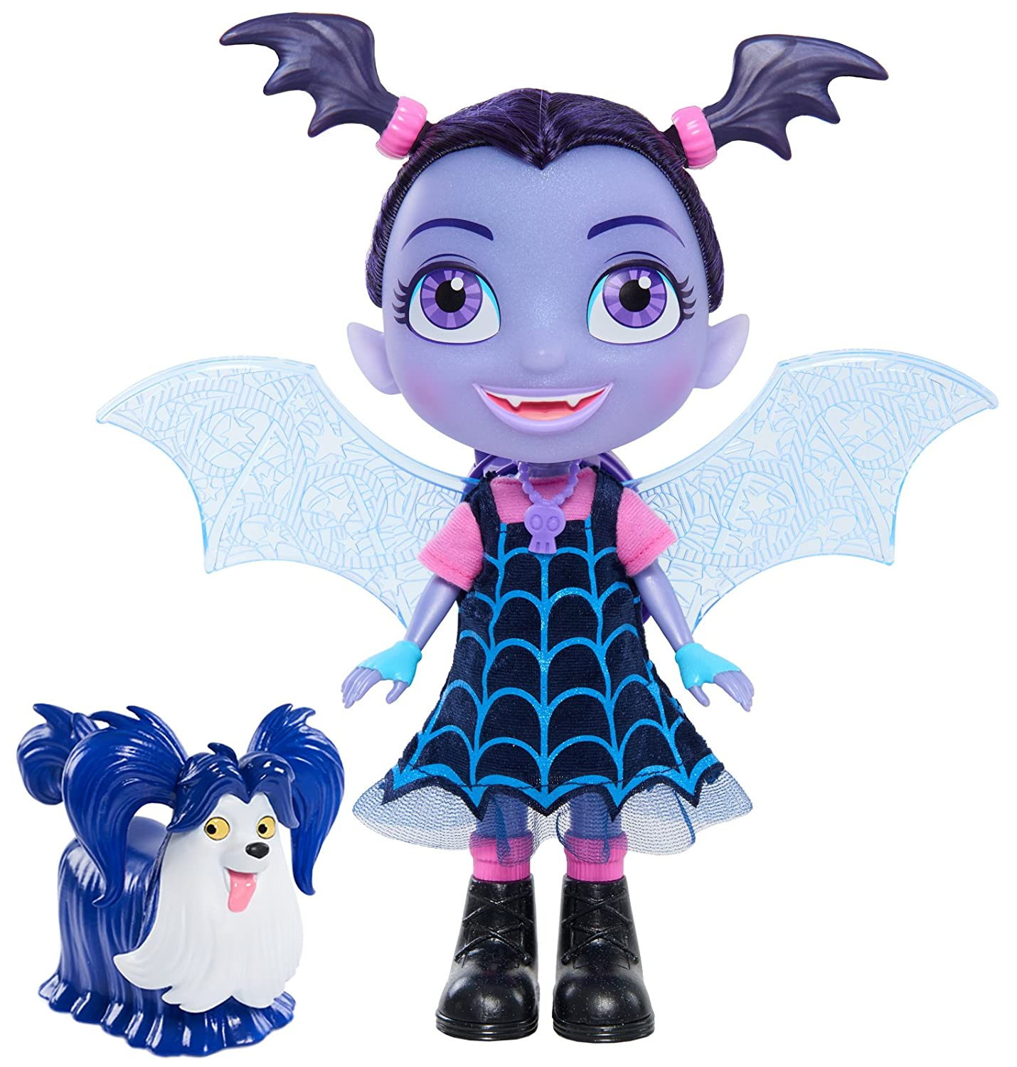 Vampirina Bat-Tastic Talking & Wolfie Dolls Just Play - Import 78041