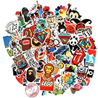 8 Series Stickers 100 pcs/pack Stickers Variety Vinyl Car Sticker Motorcycle Bicycle Luggage Decal Graffiti Patches Skateboard Stickers for Laptop Stickers For Kid And Adult