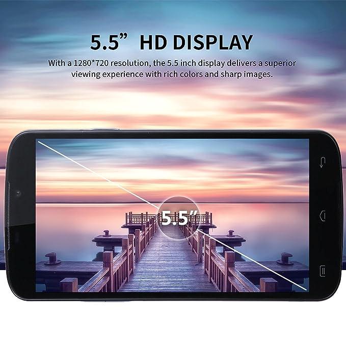 Moviles Libres Baratos, DOOGEE X6S 4G Móviles y Smartphones Libres, 5.5