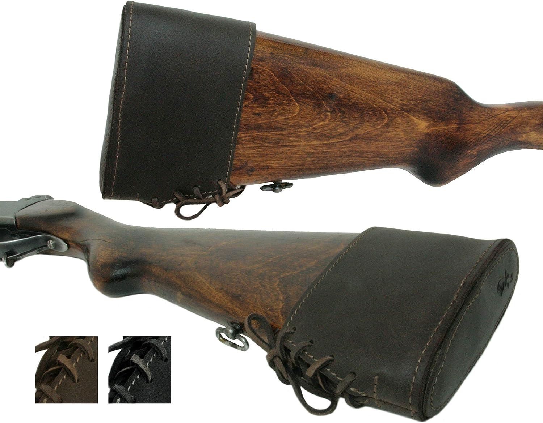 Black Adjustable Hunting Gun Slip-On Rubber Recoil Pad HIGH QUALITY USA SELLER