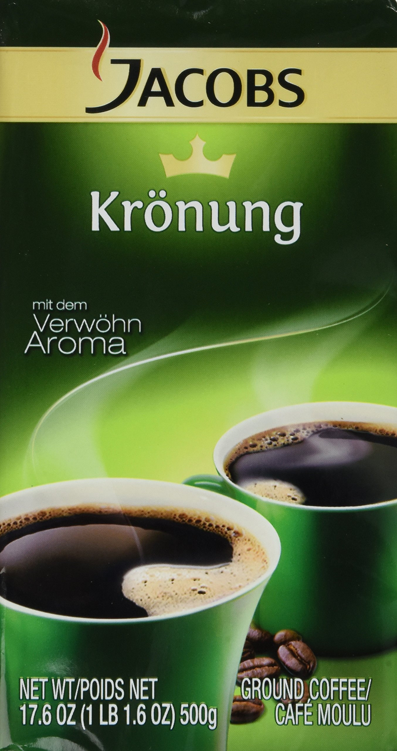 Jacobs Kronung, 17.6 Oz. Ground Coffee (6 Pack)