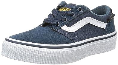 15cde72a14 Vans Unisex Kids  Chapman Stripe Low-Top Sneakers  Amazon.co.uk ...