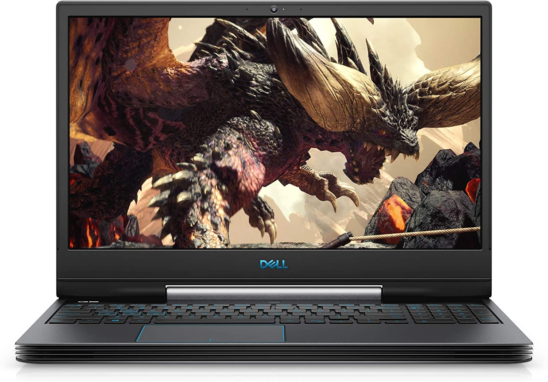"Dell G5 15 Gaming Laptop (Windows 10 Home, 9th Gen Intel Core i7-9750H, NVIDIA GTX 1650, 15.6"" FHD LCD Screen, 256GB SSD and 1TB SATA, 16 GB RAM) G5590-7679BLK-PUS (Renewed)"
